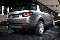 The New Land Rover Discovery Royalty Free Stock Photo