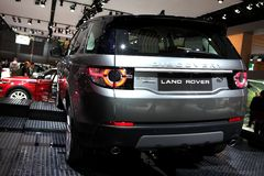 The New Land Rover Discovery Royalty Free Stock Images