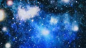 Awesome nebula in deep space. Galaxy and Nebula. Abstract space background. Stock Photos
