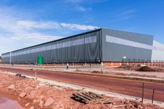 New Large Warehouse Building Stock Photography