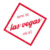 New In Las Vegas rubber stamp Stock Image