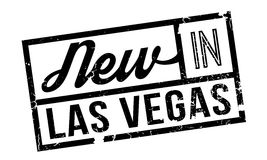New In Las Vegas rubber stamp Royalty Free Stock Image