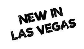 New In Las Vegas rubber stamp Stock Images