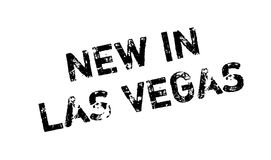 New In Las Vegas rubber stamp Royalty Free Stock Photography