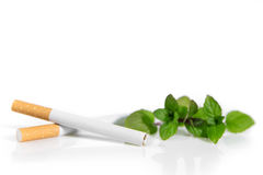 New Law in Germany, Menthol cigarettes are forbidden Stock Image