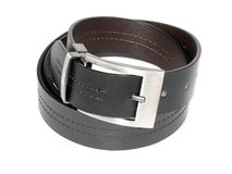 A new leather belt Royalty Free Stock Photo