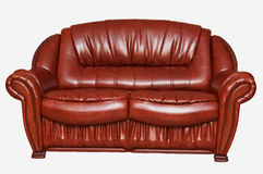 New leather divan Stock Photography