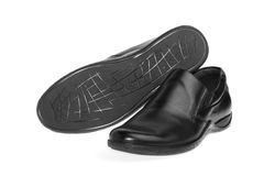 New leather men shoes Royalty Free Stock Image