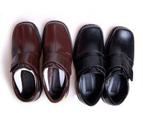 New leather shoes Stock Image