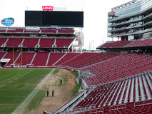 The new Levi's stadium Santa Clara California Royalty Free Stock Photo