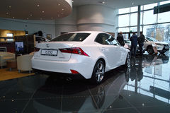 New Lexus IS 2013 Royalty Free Stock Photos