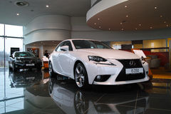 New Lexus IS 2013 Royalty Free Stock Images