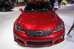 New Lexus IS-F. Lexus exposition at Chicago auto show Stock Photos
