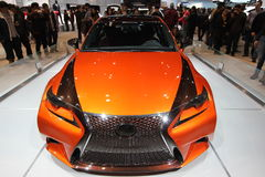 New Lexus IS 250 F Sport 2014 Royalty Free Stock Photo