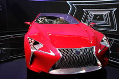New Lexus LF-LC Stock Images