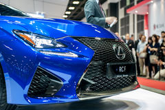 New Lexus RC-F at the Singapore Motorshow 2015 Stock Image