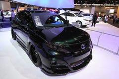 New Lexus RX 450h HYBRID. Lexus exposition at Chicago auto show Stock Images