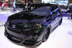 New Lexus RX 450h HYBRID. Lexus exposition at Chicago auto show 2011 Stock Photo