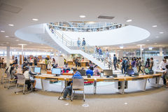 The new library opened in Kaohsiung Stock Photos