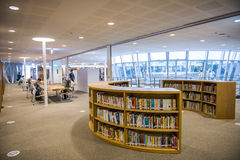 The new library opened in Kaohsiung Royalty Free Stock Photos