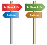 A new life Stock Images