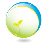 New life in sphere. Vector illustration. look for more illustrations in my portfolio Stock Photography
