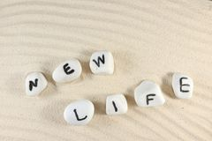 New life word Stock Photography