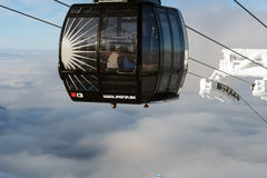 New lift in Jasna. Stock Photo