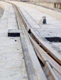 New light rail rapid transportation system Stock Image