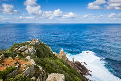 The New Lighthouse of Cape Point Royalty Free Stock Photo