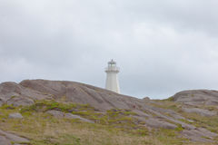 New Lighthouse Cape Spear Historic Site NL Canada Royalty Free Stock Photos