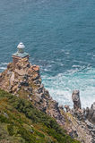 New lighthouse at Diaz Point,  Cape Point Stock Photography