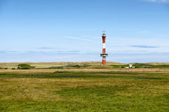 The new lighthouse in Wangerooge Stock Image