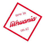 New In Lithuania rubber stamp Royalty Free Stock Images