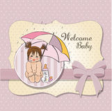 New little girl Royalty Free Stock Photo