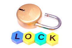 New lock Royalty Free Stock Photography