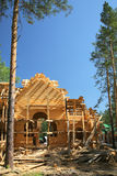 New log house Stock Image
