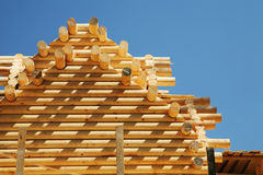 Free New Log House Royalty Free Stock Images - 7131679