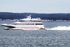Cross Sound Ferry Sea Jet stock images