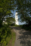New London Harbor Lighthouse in Connecticut Royalty Free Stock Photo