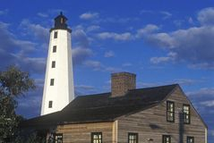 New London Harbor Lighthouse, New London, CT Royalty Free Stock Images
