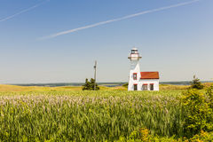 New London Range Rear Lighthouse, PEI Stock Images