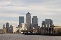 New London Skyline. Royalty Free Stock Photos