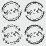 New look insignia stamp isolated on white. Royalty Free Stock Image