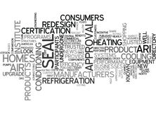 A New Look For A Trusted Seal Of Approval Word Cloud Stock Photos