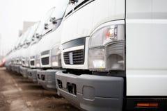 New lorries Stock Photos