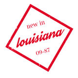 New In Louisiana rubber stamp Royalty Free Stock Photos