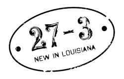 New In Louisiana rubber stamp Stock Image