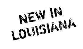 New In Louisiana rubber stamp Stock Images