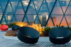 New lounge terrace Stock Photos